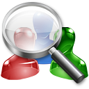 find, search, user icon