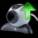 up, webcamera icon