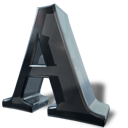 a, font, letter icon