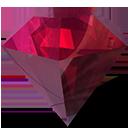 beryl-manager, diamond, jewel, purple icon