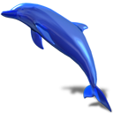 d3lphin, dolphin icon
