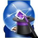 connection, hat, internet, wizard