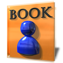 book, education, kaddressbook, student icon