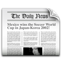 News, newspaper, the daily news, tv icon - Free download