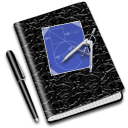 education, math, notebook icon