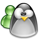 linux, msn icon