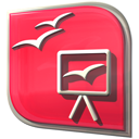 Ooo-impress icon - Free download on Iconfinder
