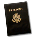 document, passport, password icon