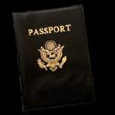 Document, passport, password icon