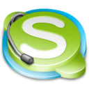 call, messenger, skype icon