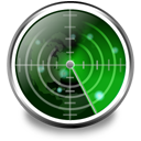 nearby, radar, wifi icon