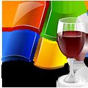 glass, windows, wine