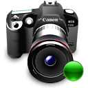 camera, canon, lens, mount, reflex icon