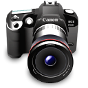 camera, canon, digital camera, dslr, photography icon