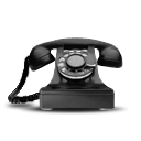 dial, phone, rotary, telecommunication, telephone icon