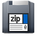 disk, unmount, zip icon