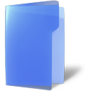 blue, close, folder, open icon