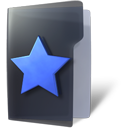 favorite, folder, star icon