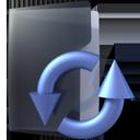 folder, updates icon