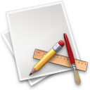 applications, draw, file, paper, pen icon