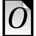 font, opentype icon