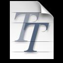 font, truetype