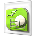 calc, file, ooo, open office icon