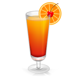 orange, red icon