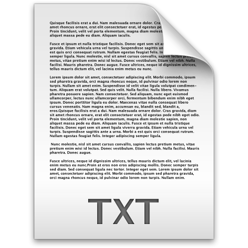 .txt Text File Icon Document, file, text, txt icon