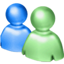chat, community network, live chat, messenger, msn, msn mesenger, people, windows live messenger icon