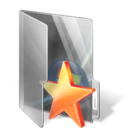 bookmark, folder, star