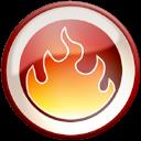Fire, nero icon
