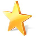 bookmark, favorite, star icon
