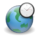 clock, earth, internet, world