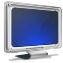monitor, tv icon