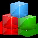 blocks, color, modules, rgb, square icon
