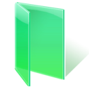 Folder, green, open icon - Free download on Iconfinder