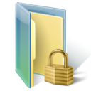 hacker, locked folder icon