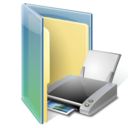 Folder, print icon - Free download on Iconfinder