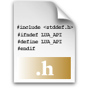 h, source icon