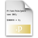 p, source icon