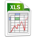 Excel, microsoft, word, xls icon - Free download