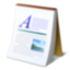 abiword, document, text icon