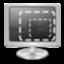 display, resize icon