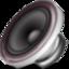music, sound, speaker icon