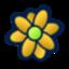 flower, icq icon