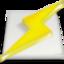 lightning, power, winamp icon
