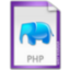 code, php, script, source icon