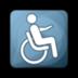access, wheelchair icon