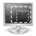 display, resize icon